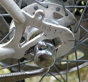bicycle serial number identification