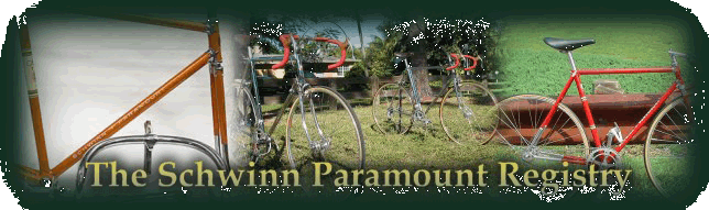 The Schwinn Paramount Registry at The Headbadge